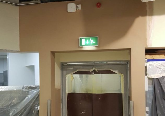 commercial plastering in Doncaster
