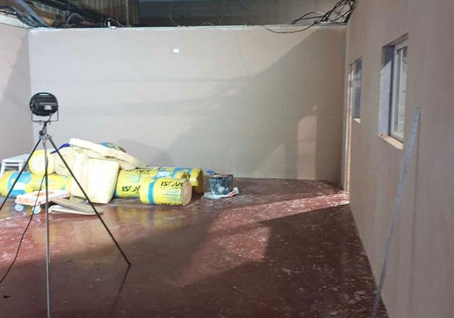 cafe in doncaster plastered walls