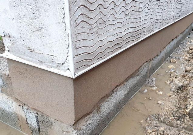 Plastering job underway in Doncaster